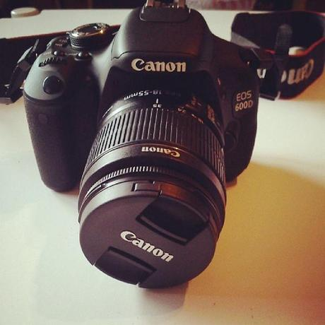 New Camera {Canon EOS 600D}