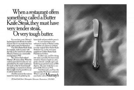 Fallon Murray's butter knife ad
