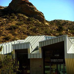 The Interpretive Center at Vasquez Rocks Natural Area Park in Agua Dulce