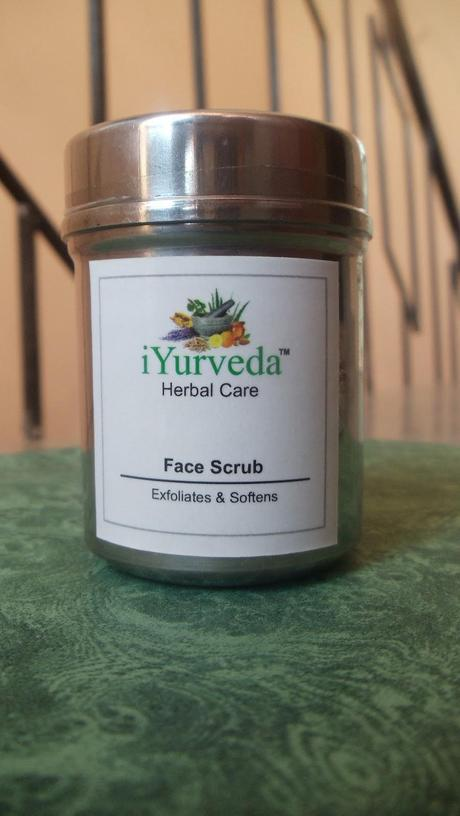 iYurveda Herbal Care Face Scrub.