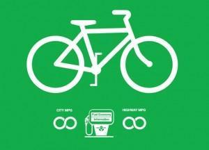 biking to go green