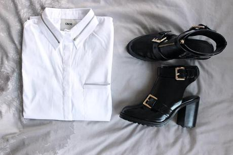 NEW IN | Cut Out Boots & Shirt