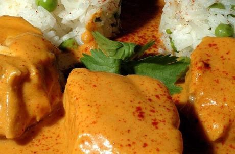 Orange Curry of Halibut