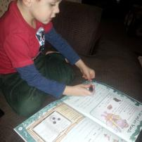 Helping Little Mr A learn at home with Letts and Collins