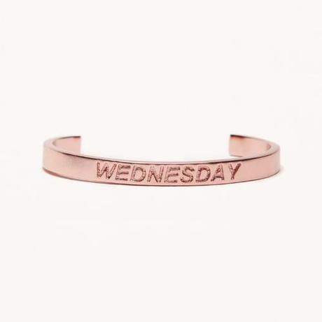 Rose Gold Wednesday Mean girls jewelry