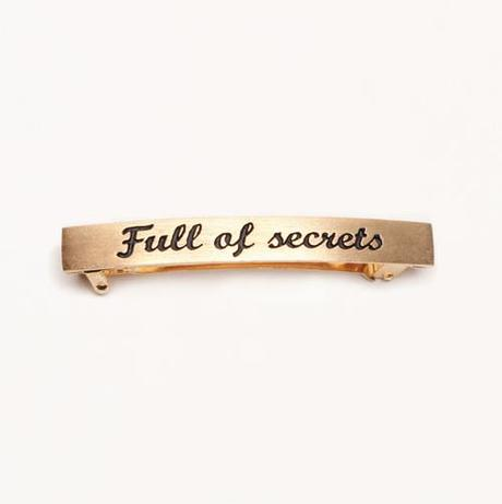 Full of Secrets hair clip Mean Girls Jewelry