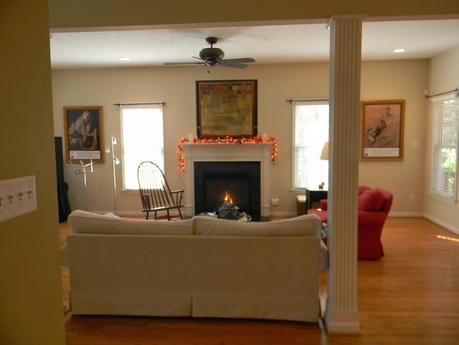 A Warm and Inviting Living Room Design Package!