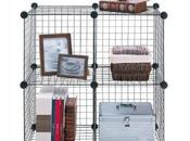 Organize Cube Grid, Large, Silver