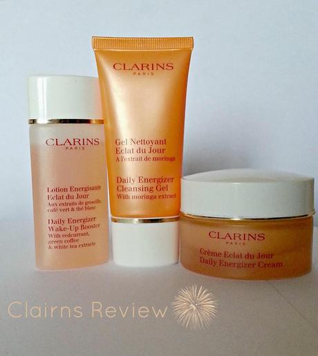 Skincare Routine - Clarins Daily Energizer Range