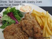 Oriental Twist Chicken with Crunchy Crumb McCain French Fries