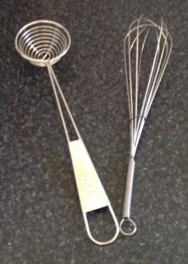 Retro vintage egg separator whisk this mom rocks thifted op shop finds Christmas baking
