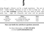 Family 101- Attend Workshop January 2014