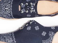 Hampton Bandana Navy Shoe