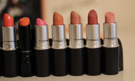 updated mac lipstick collection