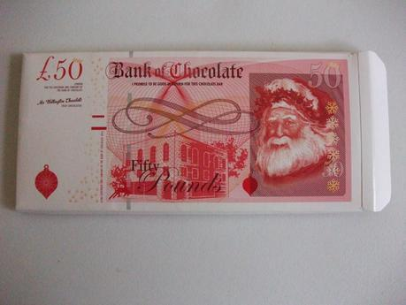 Tesco Bank of Chocolate - Money-themed Belgian Chocolate Bar Review