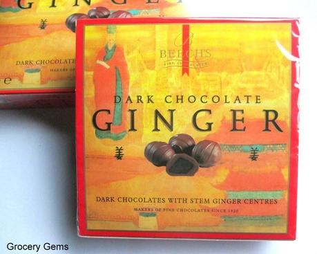Review: Beech's Dark Chocolate Ginger