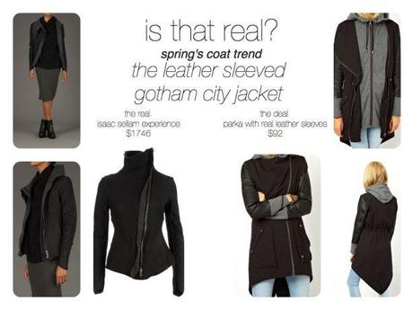 Reasons To Dress.is com that real gotham city spring coat