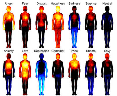Bodily maps of emotions.