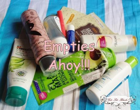 Empties Post-Hair Care Skin Care Makeup - Quick Reviews