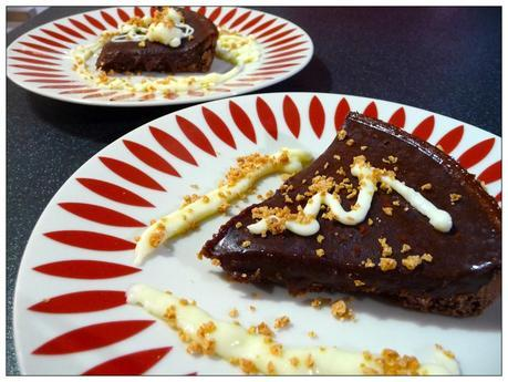 Chocolate & Amaretto Truffle Slice