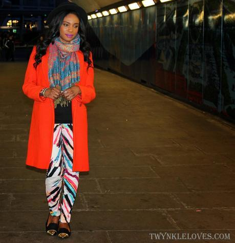 Today I'm Wearing: A Cold Splash Of Colour