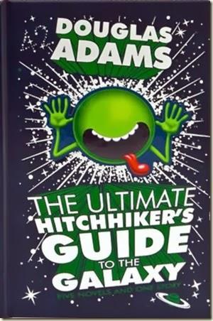 Douglas adams hitchhiker's guide.
