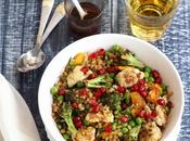 Wheat Berry Salad Roasted Winter Vegetables