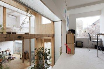 House Komazawa Park by Mico
