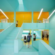 Bangkok University Student Activity Center by Supermachine Studio
