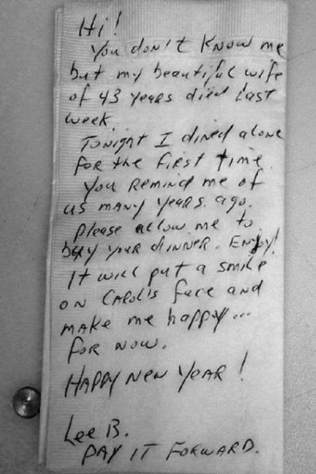 widower's note
