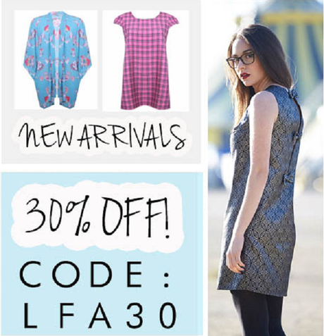 Inlovewithfashion New Arrivals at 30% OFF
