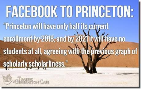 facebook to princeton retort