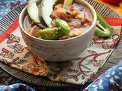 Spicy Shredded Chicken Tortilla Soup