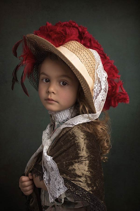 A 5-Year-Old Starts Her Modeling Career...