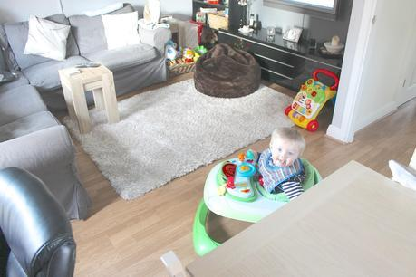 9 months old, play space, toy storage solutions,
