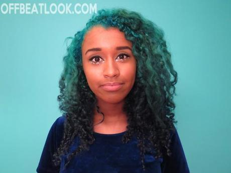 how to ombre blue hair