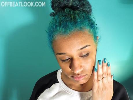 how to dye your hair blue teal turquoise