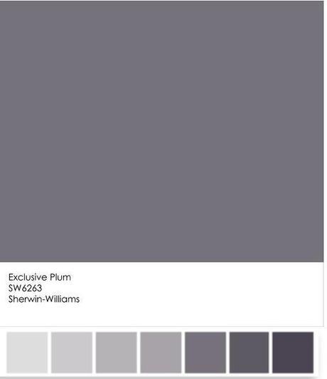 Sherwin Williams 2014 Color Forecast Curiosity Featuring: Color Snapshot: Sherwin-Williams Exclusive Plum