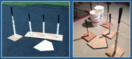 How To Make A Batting Tee Paperblog