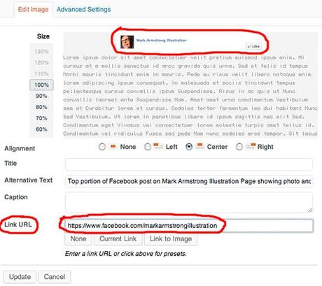 How To Embed A Link In An Image On Facebook