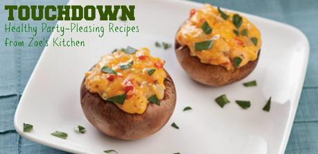 Touchdown! Healthy Party Pleasers from Zoe's Mediterranean {Recipes}