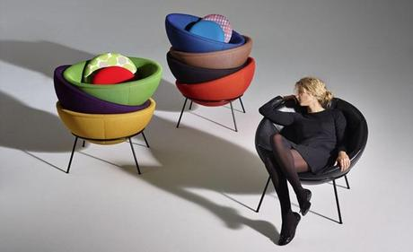 Arper Produces The Bowl Chair Designed In 1951 For The First Time| Furniture