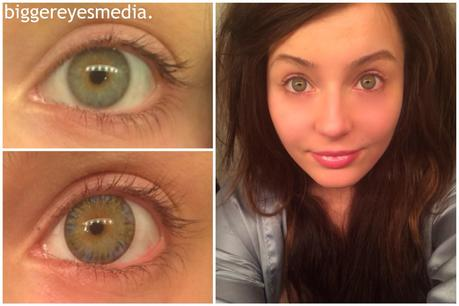 Диаметр цветных линз для глаз