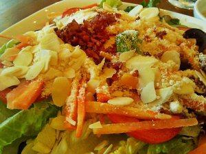 Vegetable Salad with Caesar Dressing