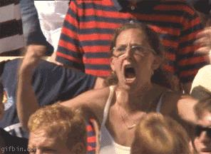 Reaction GIF: scream, angry