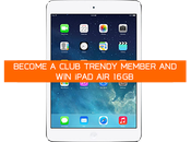 Become Club Trendy Member 16GB iPad Air!