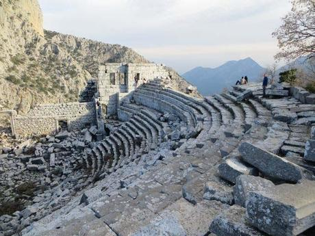 TERMESSOS, Ancient City in the Mountains of Southern Turkey, photos by Tom Scheaffer
