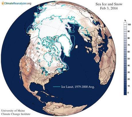 Cryosphere Snow and Ice Feb 3