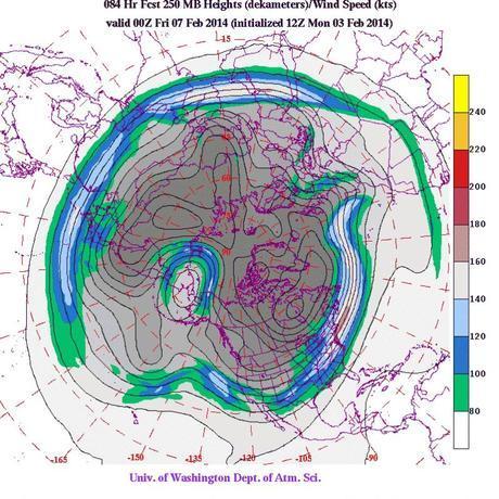 Warm core high pressure