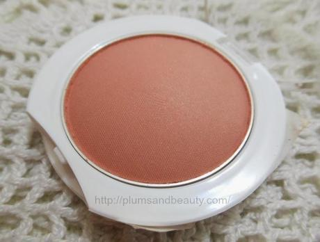 Maybelline Cheeky Glow Blush Creamy Cinnamon ~ Review, Swatch, FOTD